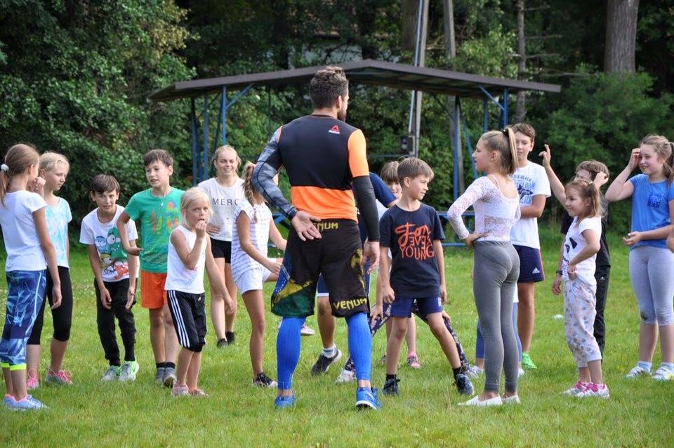 Trening z dziećmi